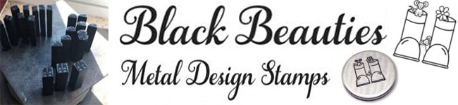Black Beauty Metal Design Stamps