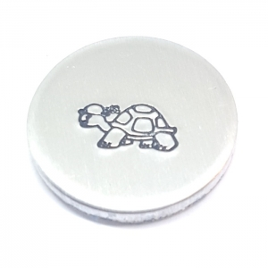 Tortoise metal design stamp metal punches