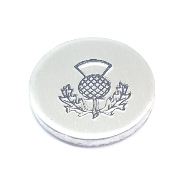 Thistle metal design stamp metal punches